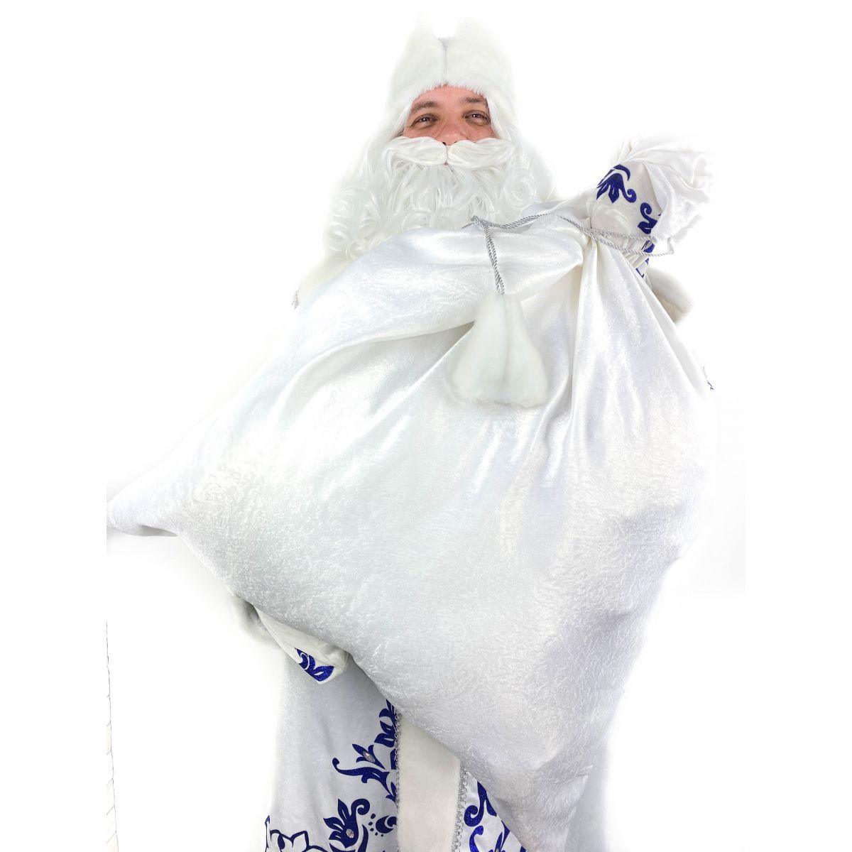 Мішок для подарунків Білий 50х75