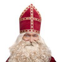 Мітра Святого Миколая Розкішна Червона