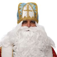 Мітра Святого Миколая Блакитна