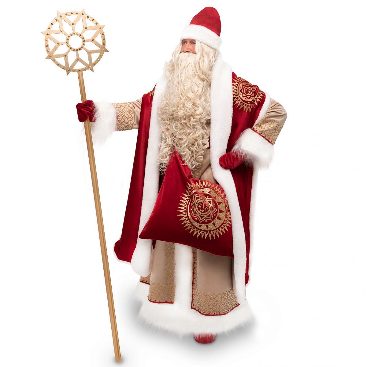 Посох Діда Мороза Золота Зірка