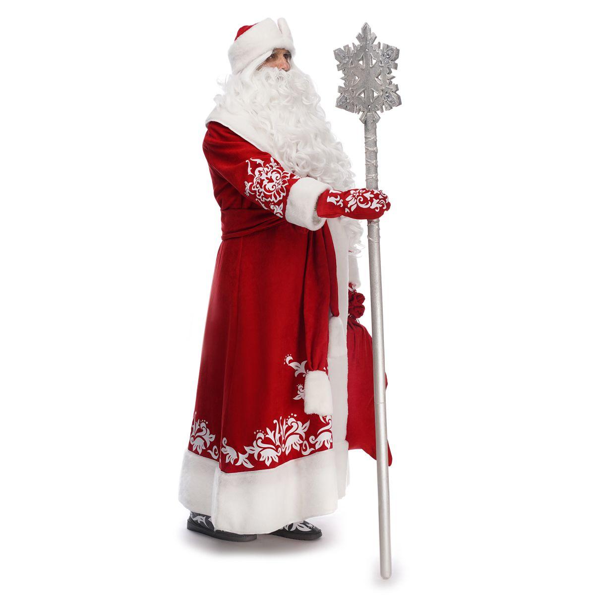 Костюм Діда Мороза Казковий Червоний