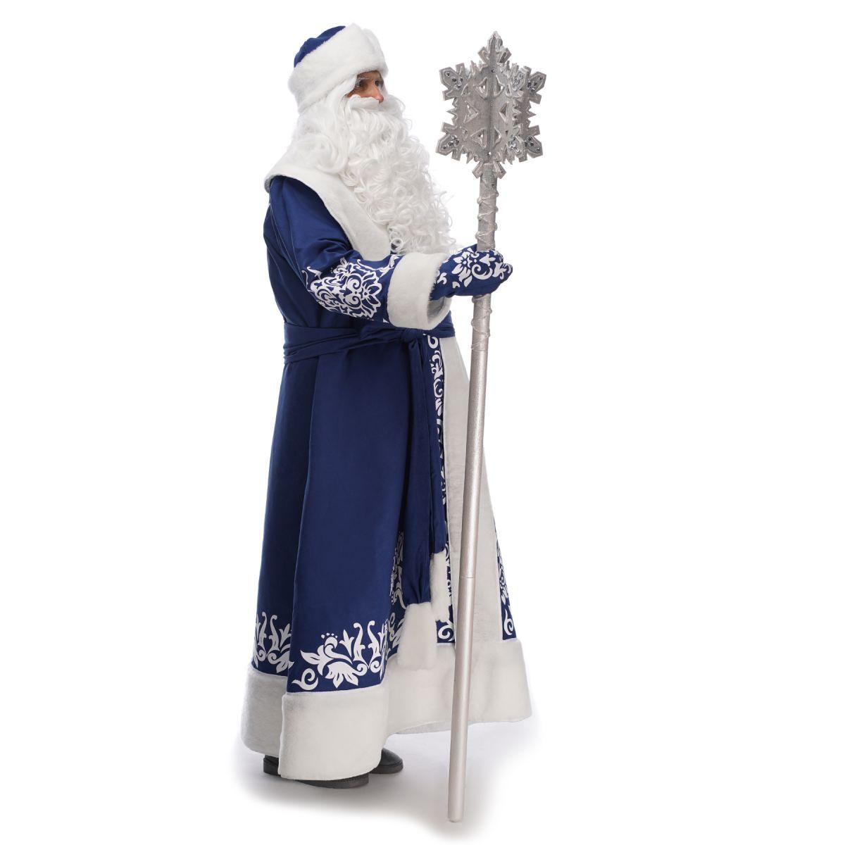 Костюм Діда Мороза Казковий Синій