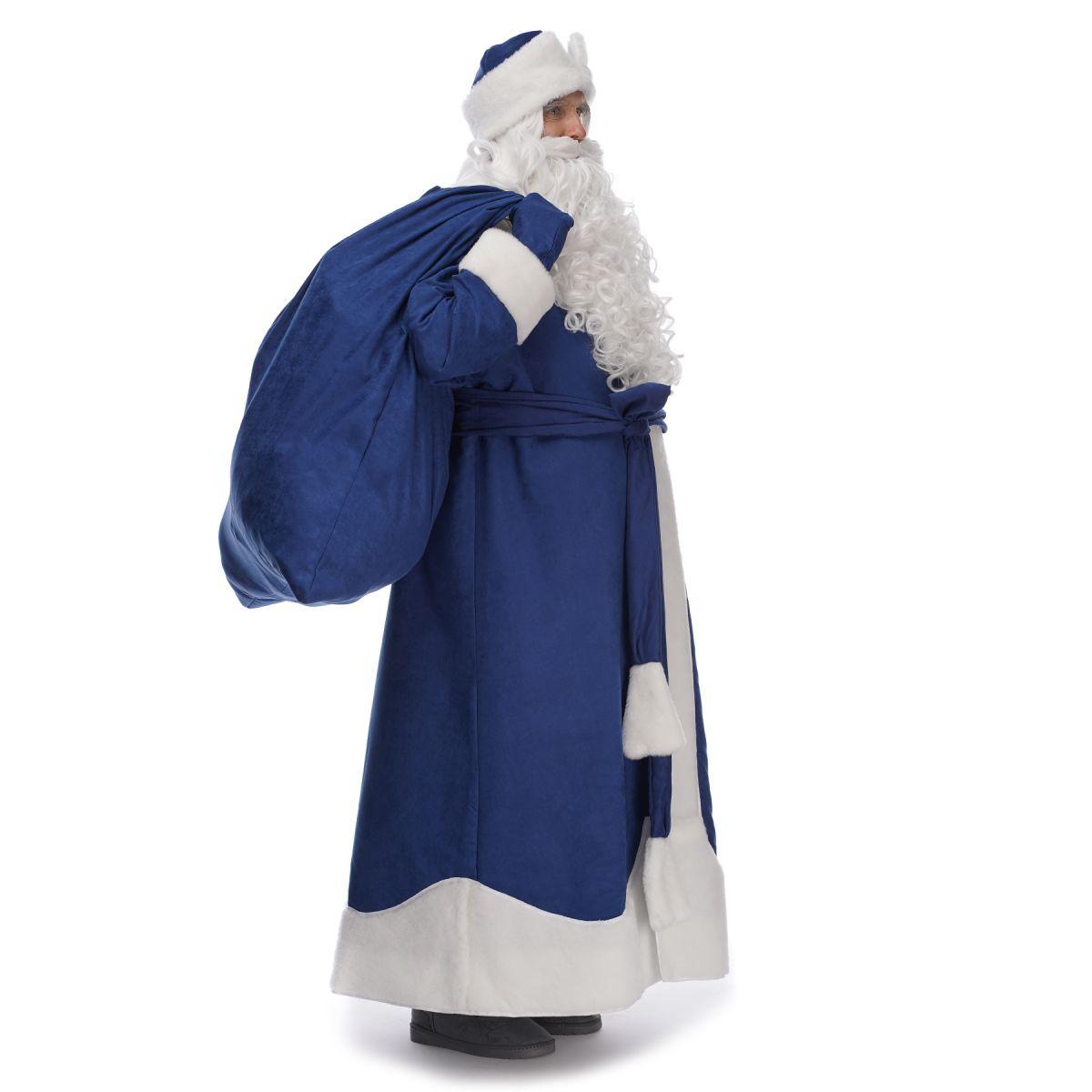 Костюм Діда Мороза Крижаний Синій