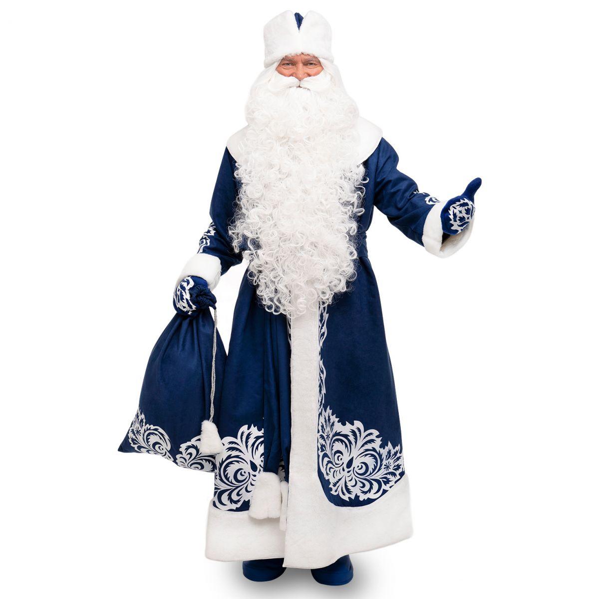 Костюм Діда Мороза Зимовий