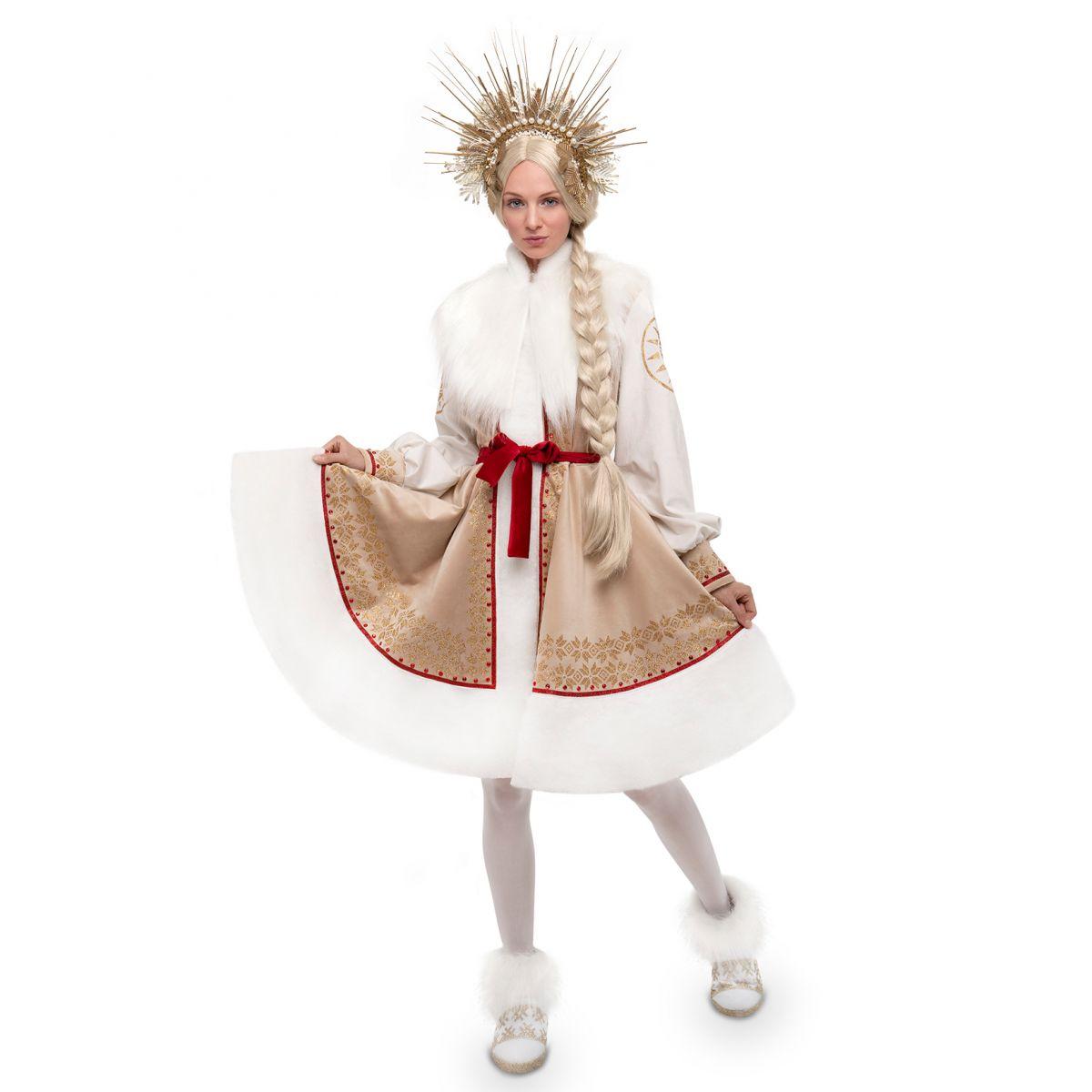 Snow Maiden Costume Sun