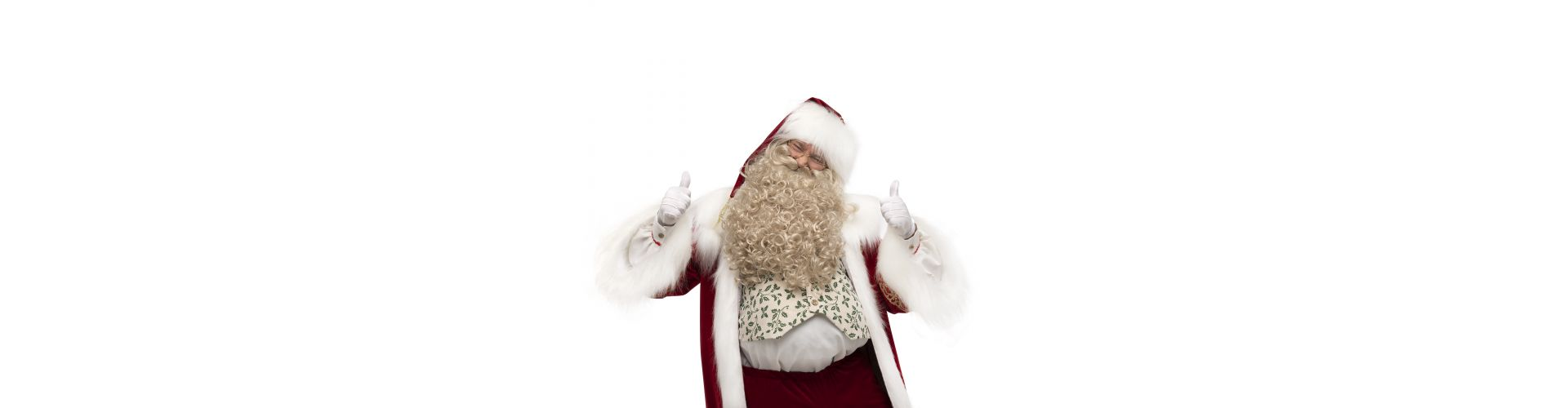Same and different beards: a necessary accent for the image of Santa Claus, Santa Claus and St. Nicholas