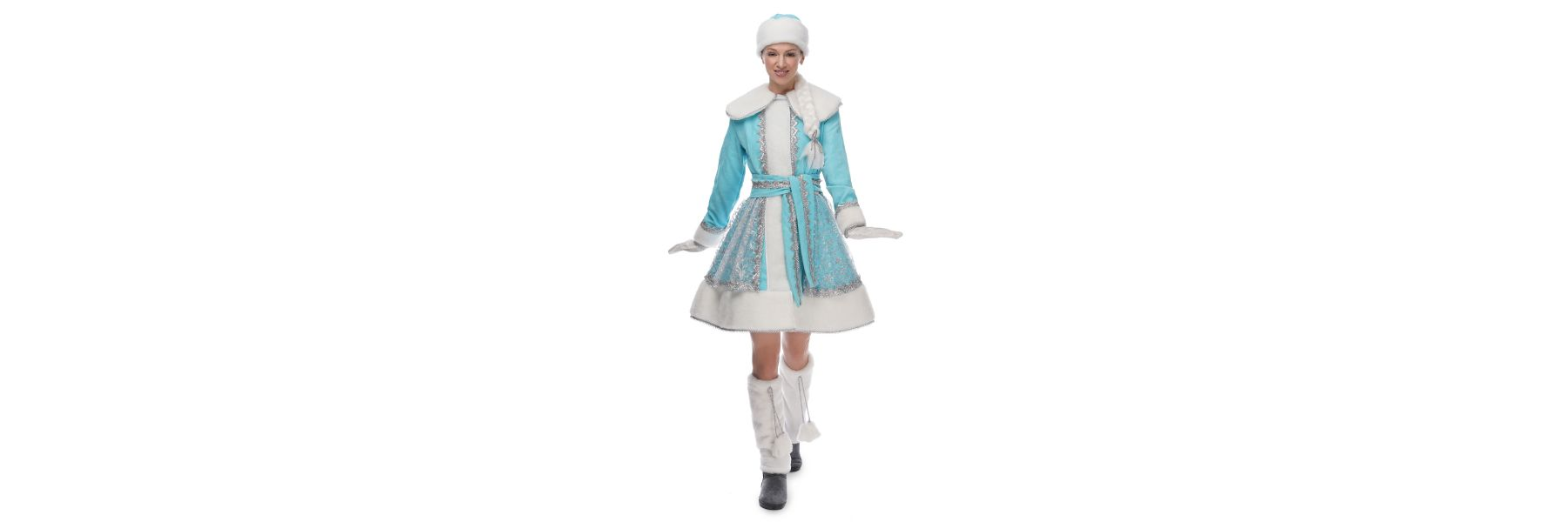 Creative or classic costume of the Snow Maiden: how to create an outfit for a gentle fairytale heroine