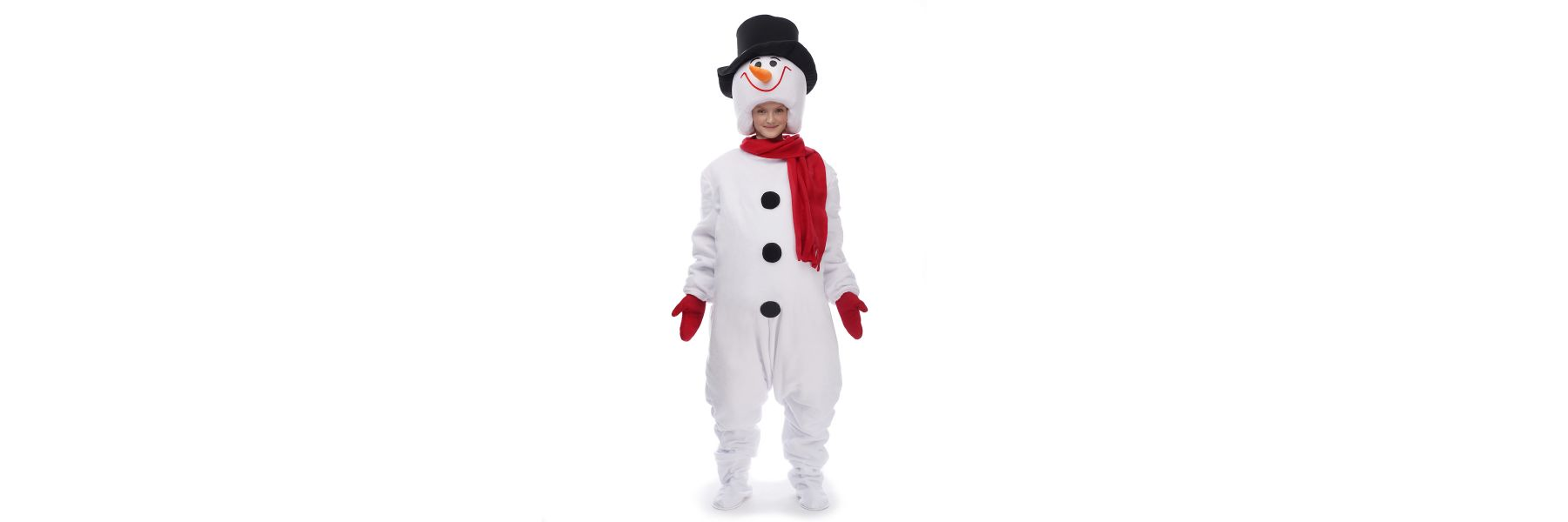 A story with a snowball: making a snowman costume yourself